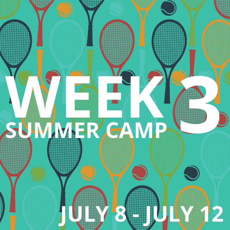Week 3: July 8-12