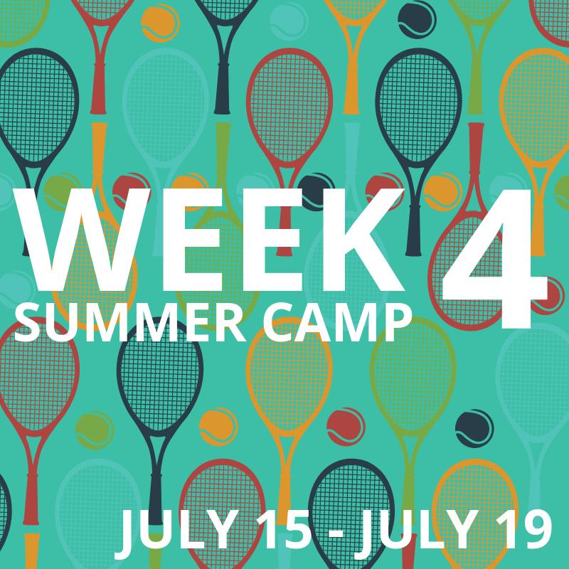 Week 4: July 15-19