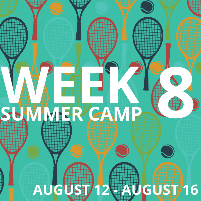 Week 8: Aug 12-16