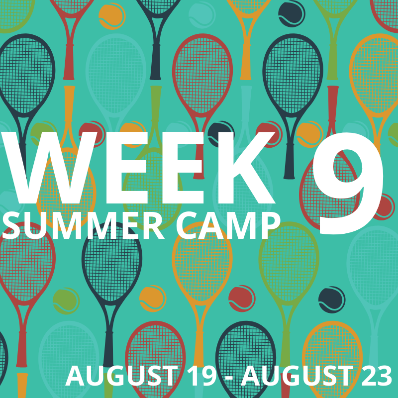Week 9: August 19-23