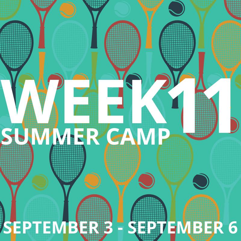 Week 11: September 3-6